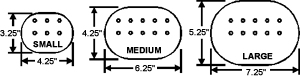 Wheelchair Tray Utility Pad dimensions