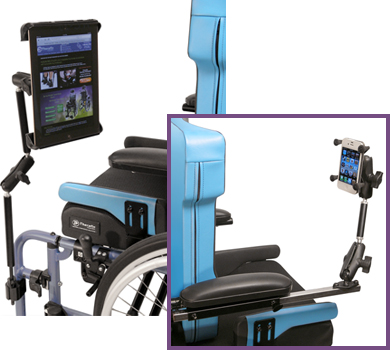 Wheelchair Communication Device Mounts