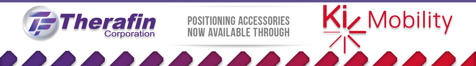 Therafin Positioning Accessories now available through Ki Mobility