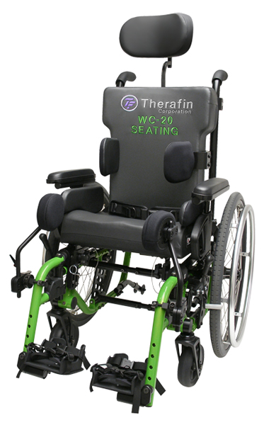 Therafin WC20 Wheelchair Trasit Seating