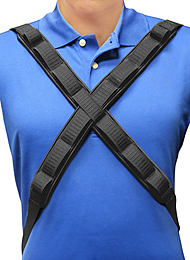 Wheelchair Positioning Bandolier Harness