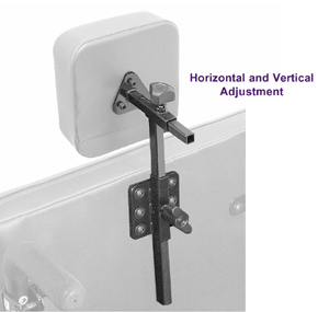 Wheelchair Positioning Basic Headrest Hardware