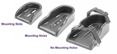 Wheelchair Positioning Rigid Shoe Holders