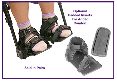 Wheelchair Positioning Shoe Sandals