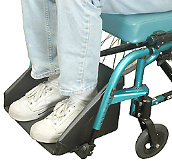 Wheelchair Positioning ABS Full Footbox