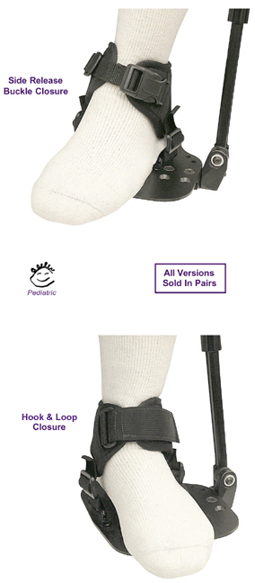Wheelchair Positioning FootSure Ankle Supports