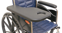 Molded Wheelchair Half Tray