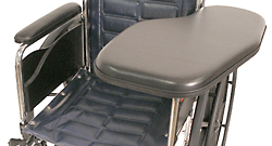 Padded Wheelchair Half Tray, No Cupholder