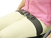 Wheelchair Positioning TheraFit Premium Single Pull Hip Belts