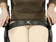 Wheelchair Hip/Pelvic Positioning Products