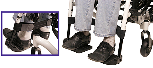 Wheelchair Positioning Leg Strap