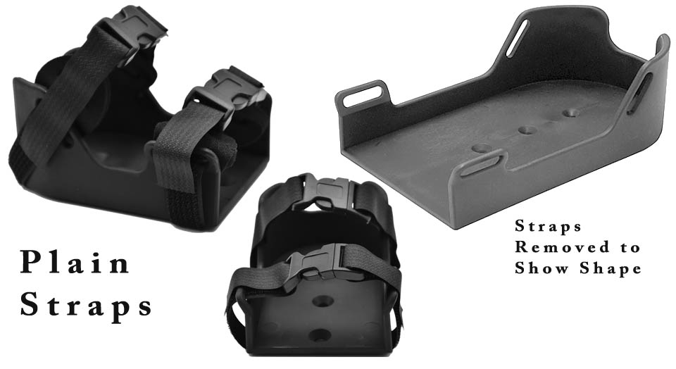 Wheelchair Positioning Molded Shoe Holders
