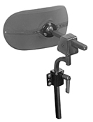 Wheelchair Positioning Multi-Axis Offset Headrest Hardware