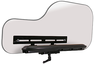 Permobil 3G Hardware Mounts a Half Tray on Permobil 3G Armrest