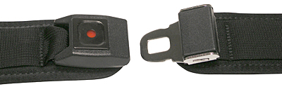 Security Buckle For Hip Positioning Belts