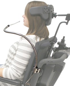 Sip-N-Puff For Wheelchair Control System