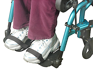 Wheelchair Positioning Toe Straps