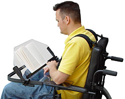 Wheelchair Heavy Duty Top Drop Tray Easel