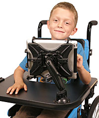Wheelchair Communication Device Mount - Tablet