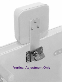 Wheelchair Positioning Vertical Headrest Hardware